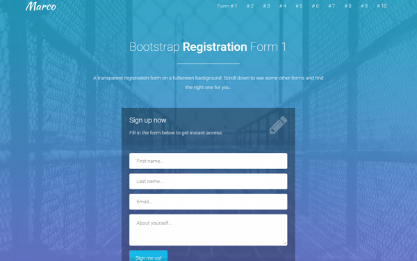 marco-template-registration-forms