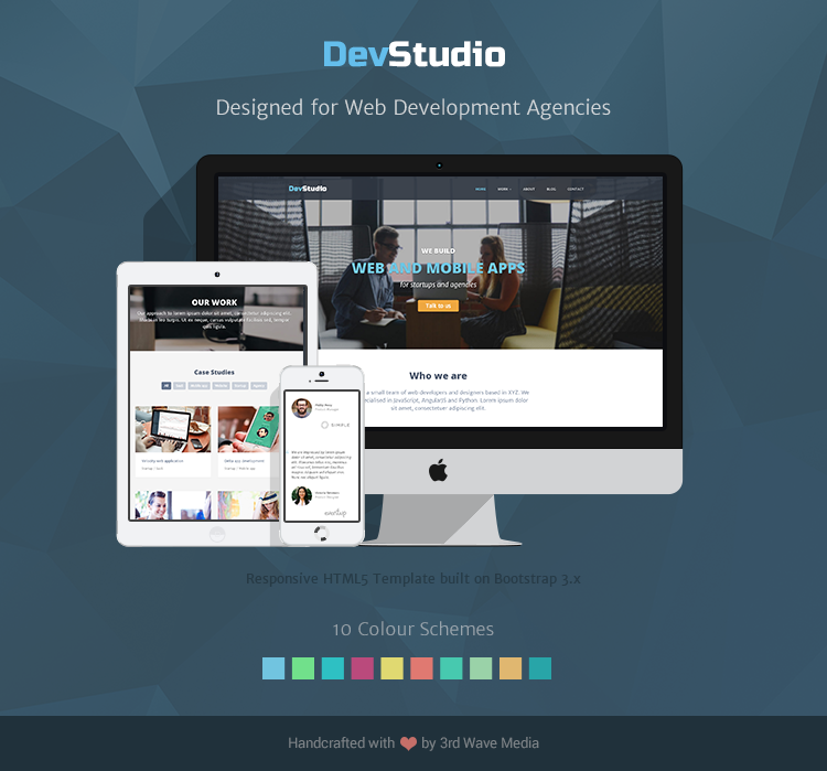 DevStudio - Designed for web development and design agencies