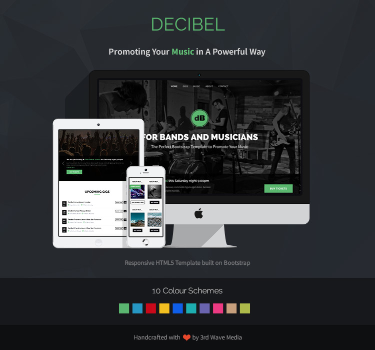 Decibel - For Bands/Musicians