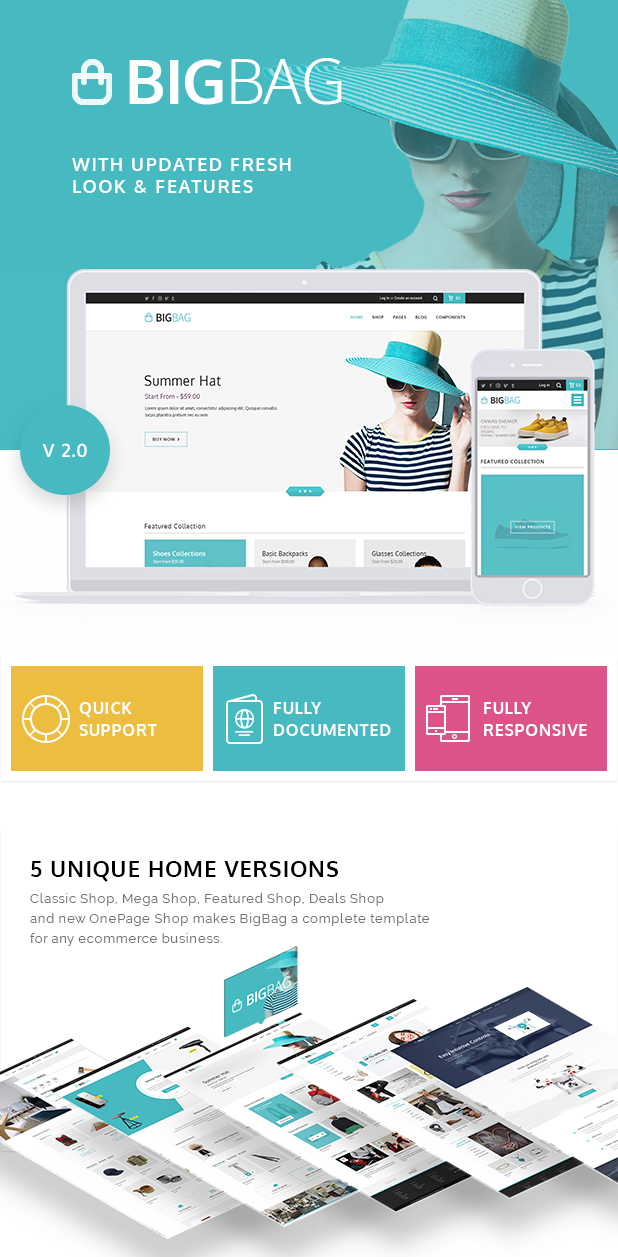 BigBag HTML Bootstrap E-commerce Template
