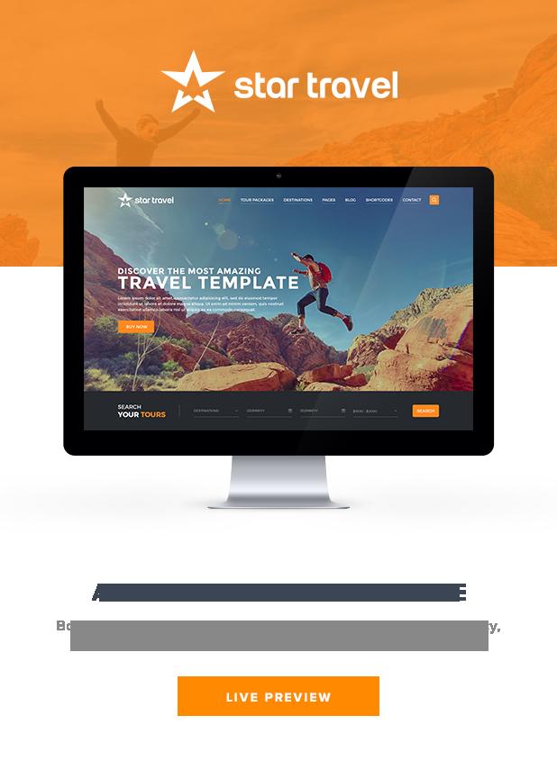 Star Travel - Tour Booking HTML Theme