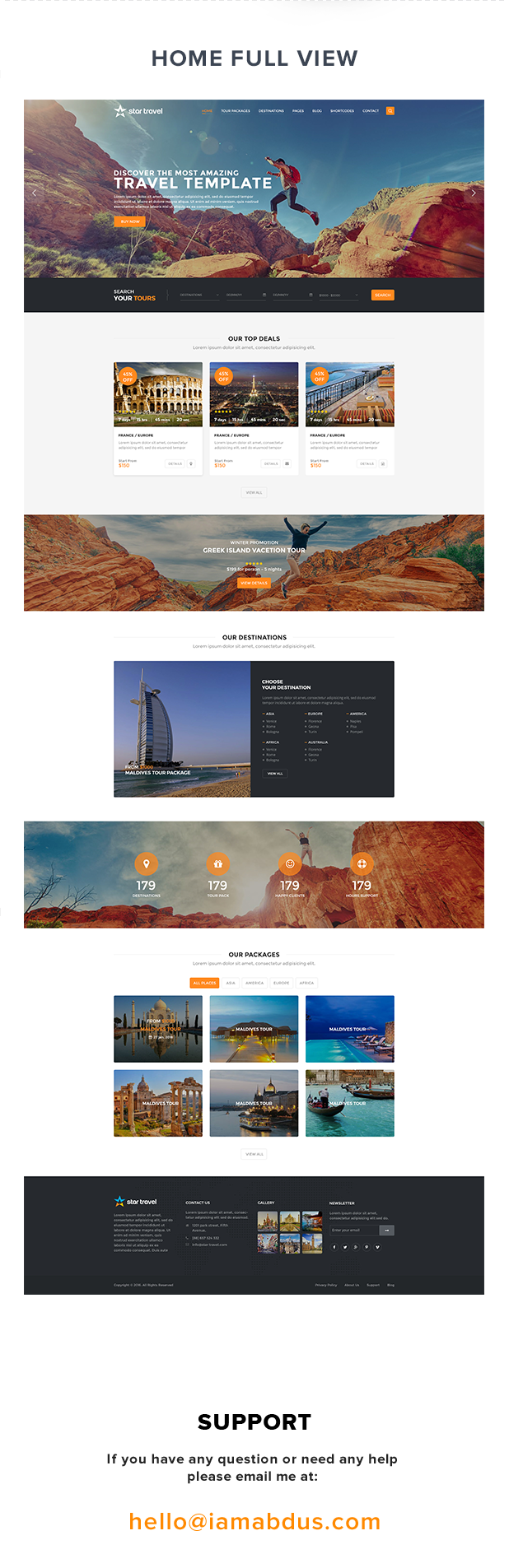 Star Travel - Tour Booking HTML Theme