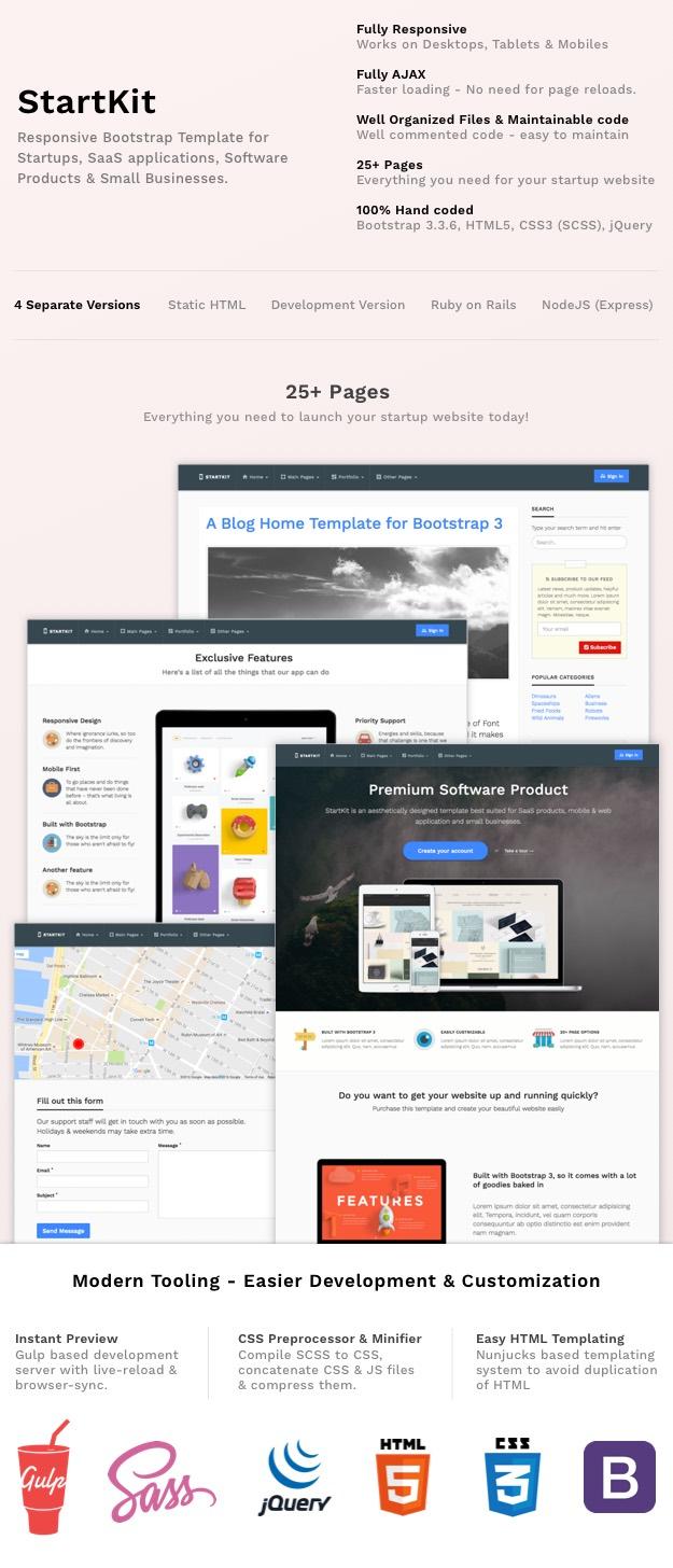 StartKit Business Template