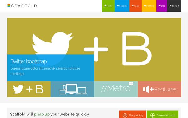 metro business theme