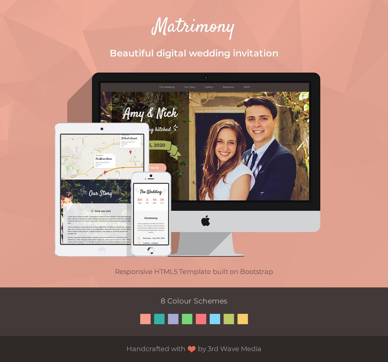 Matrimony - Wedding Invitation